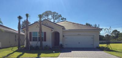 Stuart Single Family Home For Sale: 7531 SW Harbor Cove Drive