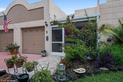 Boca Raton Single Family Home For Sale: 18940 Stewart Circle #5