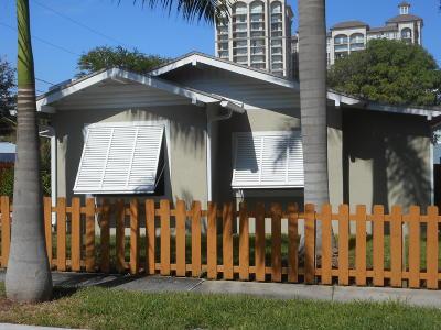 West Palm Beach Single Family Home For Sale: 509 Street
