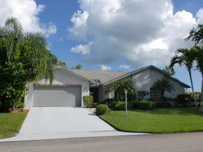 Delray Beach FL Single Family Home For Sale: $259,000