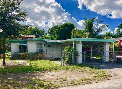 Pompano Beach Single Family Home For Sale: 2114 NW 5th Street