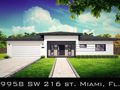 Miami-Dade County Single Family Home For Sale: 9958 SW 216th Street