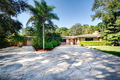 West Palm Beach Single Family Home For Sale: 8650 Pioneer Road