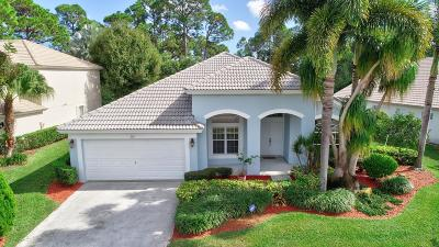 Palm Beach Gardens Single Family Home For Sale: 208 Bent Tree Drive