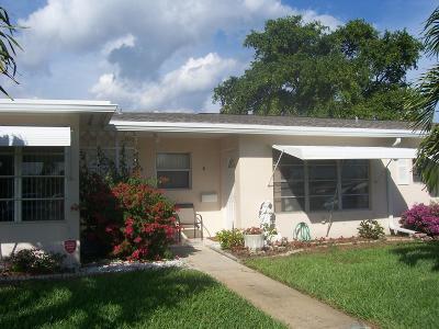 Boynton Beach Single Family Home For Sale: 165 South Boulevard #B