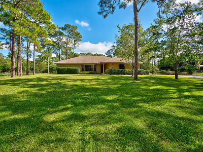 Jupiter Single Family Home Contingent: 16630 Haynie Lane