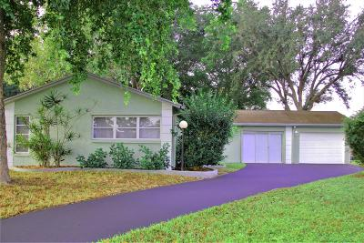 Lake Worth, Lakeworth Single Family Home For Sale: 7216 Pine Bluff Drive