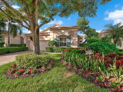Palm Beach Gardens Single Family Home For Sale: 136 Sunset Bay Drive