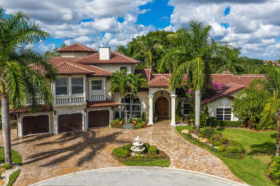 Boynton Beach Single Family Home Contingent: 4700 Lotus Way