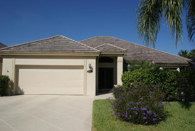 Tequesta Single Family Home For Sale: 19173 SE SEa Turtle Court