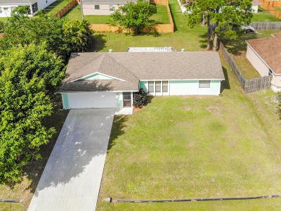 Port Saint Lucie Single Family Home For Sale: 999 SW Whittier Terrace