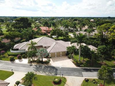 Boynton Beach Single Family Home For Sale: 42 Northwoods Lane
