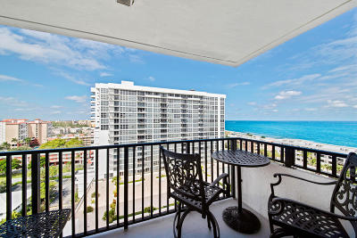 Pompano Beach Condo For Sale: 525 Ocean Boulevard #1418