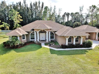 Acerage, Acreage, Acreage & Unrec, Acreage& Unrec, Acreage&unrec, Acreage, Loxahatchee, Acreage/Royal Ascott, Areage, Loxahatchee, Loxahatchee/Acreage, Royal Ascot Estates, Royal Palm Beach Acreage, The Acreage, The Acreage/Loxaha, Acarage Single Family Home For Sale: 15744 60th Place
