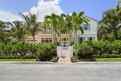 Palm Beach Single Family Home For Sale: 217 El Pueblo Way