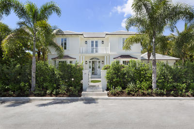 Palm Beach Single Family Home For Sale: 218 La Puerta Way