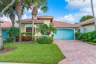 Boynton Beach Single Family Home For Sale: 6958 Boscanni Drive