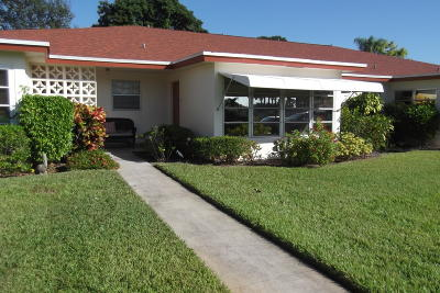 Delray Beach Single Family Home Contingent: 5045 NW 3rd Street #B