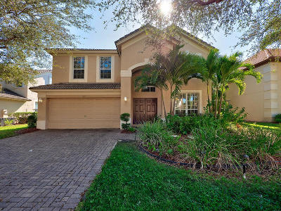 Palm Beach Gardens Single Family Home Contingent: 215 Lone Pine Drive