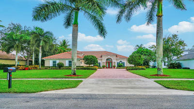 Lake Worth Single Family Home For Sale: 4561 Hunting Trail