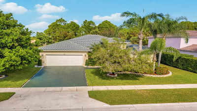 West Palm Beach Single Family Home For Sale: 9523 Granite Ridge Lane
