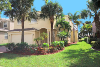 Royal Palm Beach Single Family Home For Sale: 2411 Westmont Drive