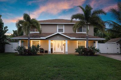 Boca Raton, Boynton Beach, Delray Beach, Jupiter, Lake Worth, North Palm Beach, Palm Beach Gardens, Tequesta, Wellington, West Palm Beach Single Family Home For Sale: 810 NW 6th Avenue