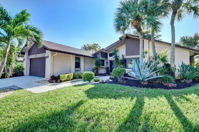 Delray Beach Single Family Home For Sale: 16568 Boca Delray Drive
