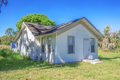 Fort Pierce Single Family Home For Sale: 4601 Sunrise Boulevard