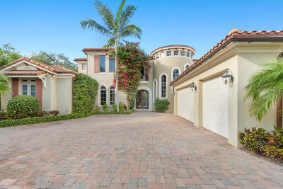 Palm Beach Gardens FL Single Family Home For Sale: $1,995,900