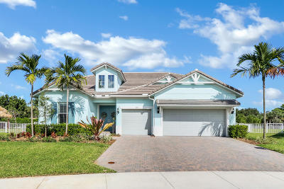 Jupiter Single Family Home For Sale: 143 Shores Pointe Drive