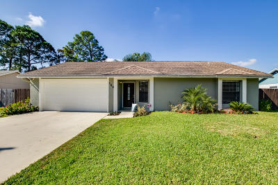Royal Palm Beach Single Family Home For Sale: 155 Parkwood Drive