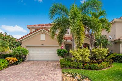 Hobe Sound Single Family Home For Sale: 7889 SE Heritage Boulevard