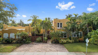 West Palm Beach Single Family Home For Sale: 516-520 34th Street