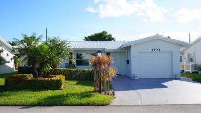 Boynton Beach Single Family Home For Sale: 2102 SW 14th Avenue
