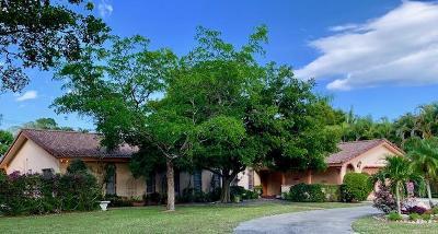 Delray Beach Single Family Home For Sale: 3617 Sherwood Boulevard