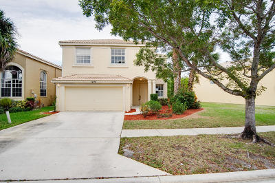 Royal Palm Beach Single Family Home For Sale: 1496 Running Oak Lane