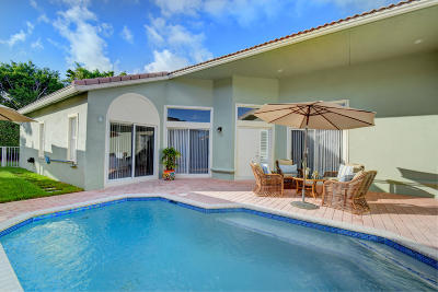 Boca Raton FL Single Family Home For Sale: $479,900