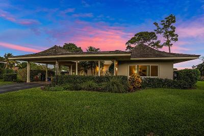 Boynton Beach Single Family Home For Sale: 4624 Bonsai Drive #7