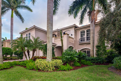 Palm Beach Gardens Single Family Home For Sale: 502 Les Jardin Drive
