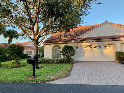 Delray Beach Single Family Home For Sale: 7913 Lake Sands Drive