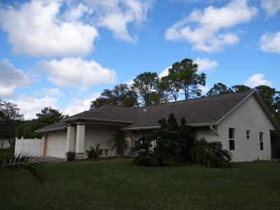 Loxahatchee Single Family Home For Sale: 16361 Key Lime Boulevard