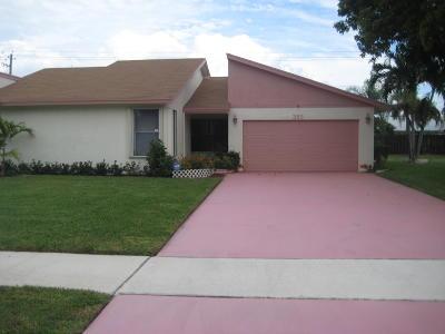 Delray Beach Single Family Home For Sale: 383 SW 27th Avenue