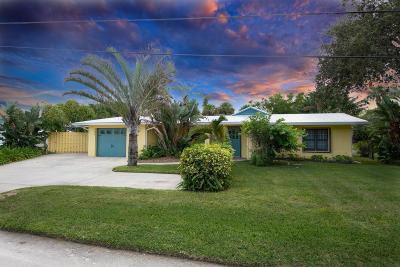 Fort Pierce Single Family Home Contingent: 759 Rio Vista Drive