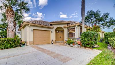 Boynton Beach Single Family Home Contingent: 6111 Bay Isles Drive