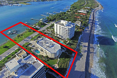 Tequesta Condo For Sale: 19930 Beach Road #201