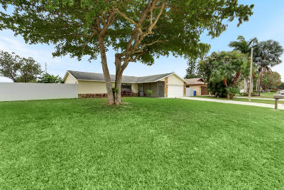 Royal Palm Beach Single Family Home For Sale: 244 Sandpiper Avenue