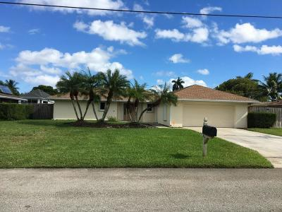 Lake Worth Single Family Home For Sale: 6866 Paul Mar Drive