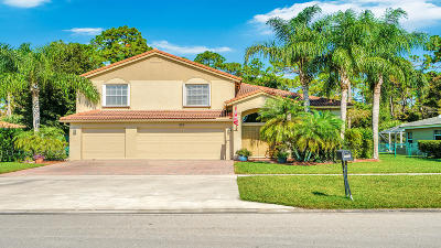 Royal Palm Beach Single Family Home For Sale: 225 Park Road