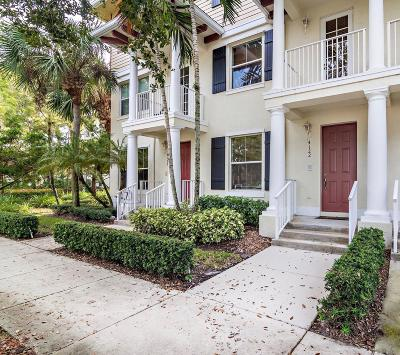Jupiter Townhouse For Sale: 4122 Greenway Drive